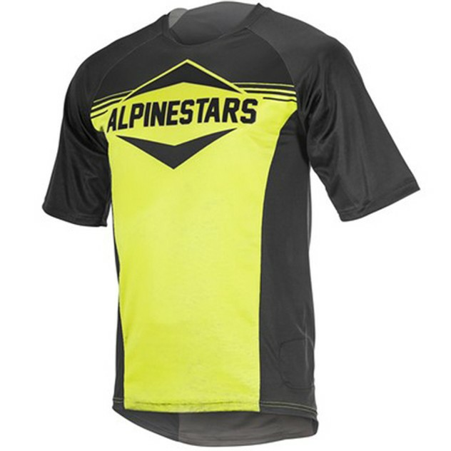CAMISETA MANGA CORTA ENDURO ALP YELLOW