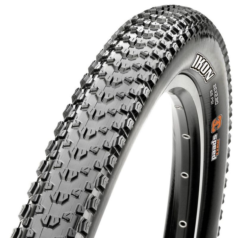 CUBIERTA MAXXIS IKON MAXXIS PERFORMANCE COMPOUND 27.5×2.20 RIGIDA NEGRO 56-584